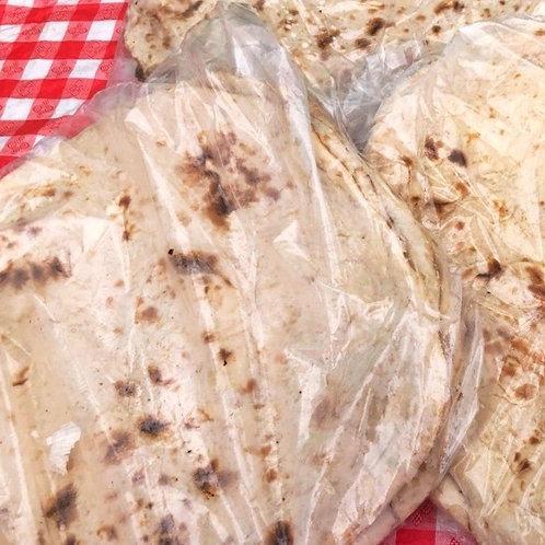Freshly Baked Naan Bread