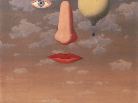 We are living a Surrealist experience