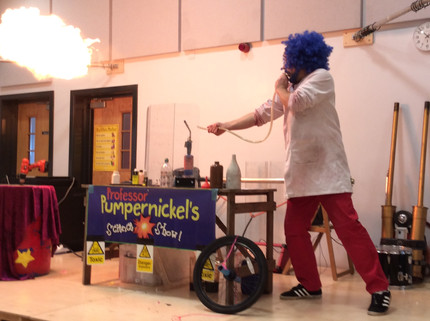 Magic Science Shows for Science Week!