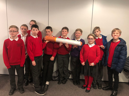 Primary school pupils learn about the dangers of substance abuse
