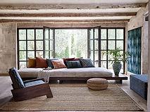 Wabi-Sabi interior of living room