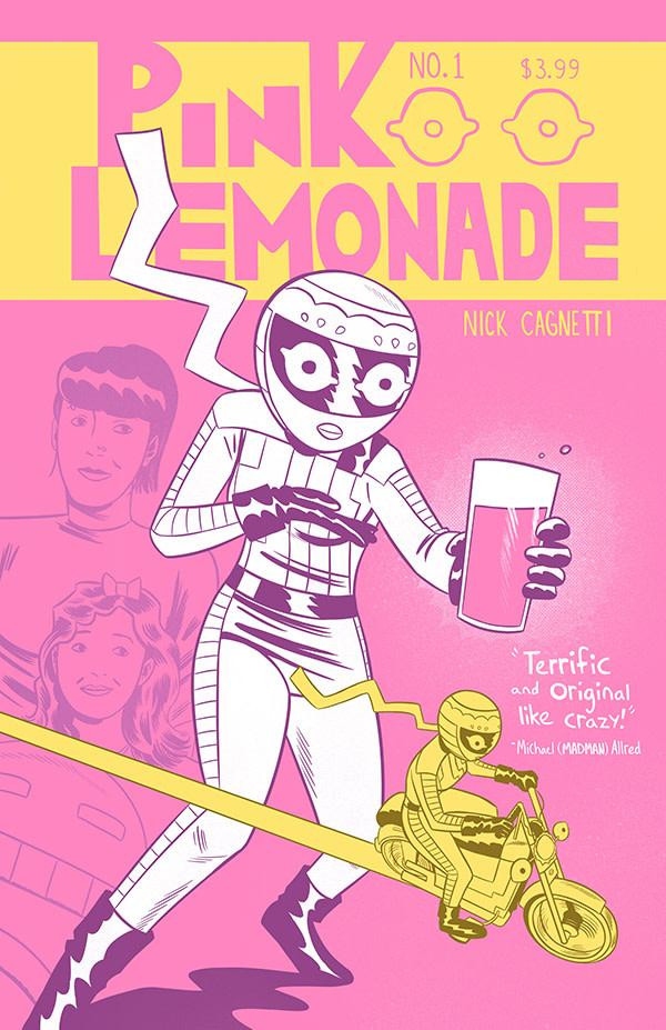 Pink Lemonade, issue #2, cover, It's Alive, Cagnetti