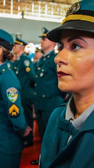 Mulheres aumentam sua participação na PM e diminuem na Polícia Civil, diz IBGE
