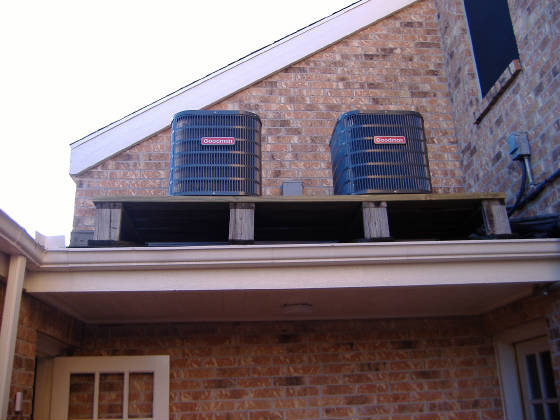 NEW ROOF AC Units