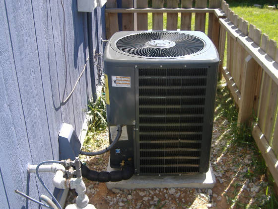 New Goodman Condenser Installed