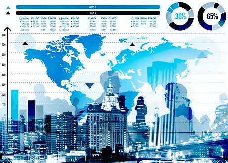 global-business-graph-growth-world-map-c
