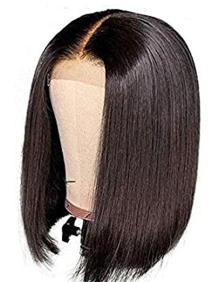 Middle Part Brazilian Bob Lace Wig