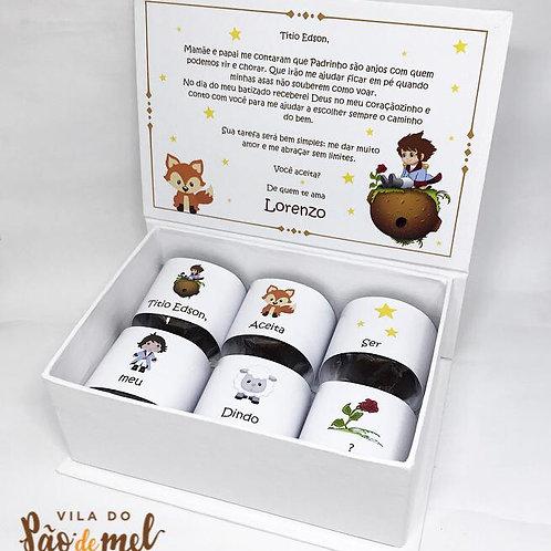 Padrinho Box - Tema Pequeno Príncipe