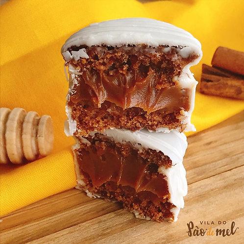 Pão de Mel Tradicional Chocolate Branco
