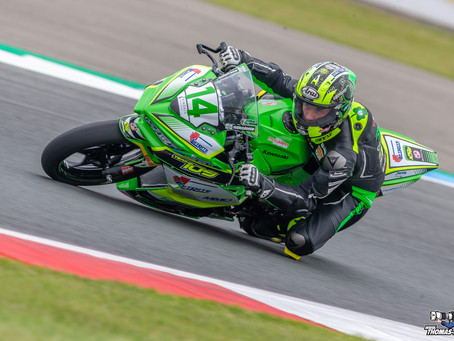 Solid performance for James in Assen
