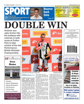 Andover Advertiser Double Win