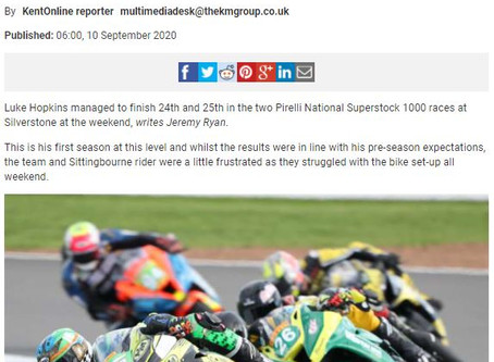 In the Press after R3 Silverstone National