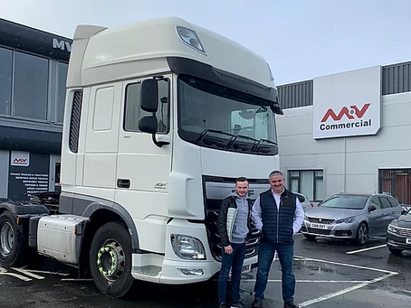 MV Commercials supply truck for 2020 season