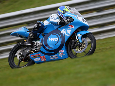 Rookie Ryan Hitchcock finishes first Moto3 season in the top ten