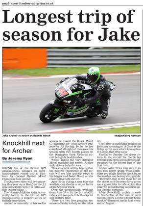 Knockhill preview Andover Advertiser