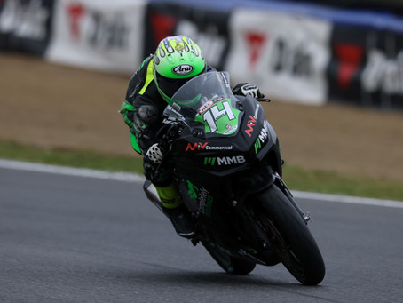 Race two revival for James