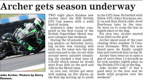 Press coverage from round 1 at Donington