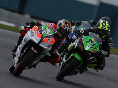 McManus brothers in the points at damp Donington