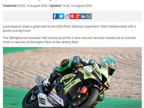 Coverage in the press after R1 Superstock 1000