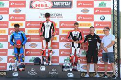 Jake ARcher podium Thruxton Kerry Rawson