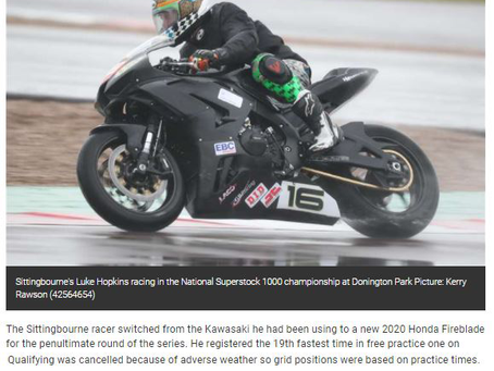 Press Coverage Donington Park GP