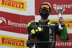 James McManus podium Silvesrtone Nat 2nd