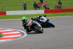 Two fifth place finishes at Donington in British GP2 Championship
