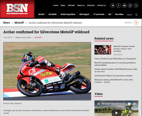 BikeSportNews.com article about MotoGP wildcard