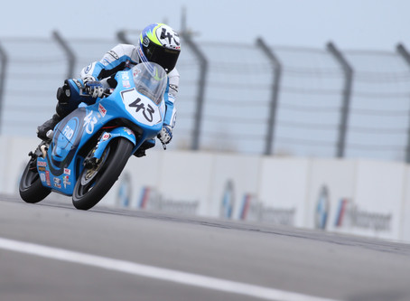 Two top ten results for Ryan Hitchcock at Donington Park