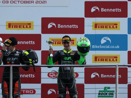 James leaves Donington with podium finish