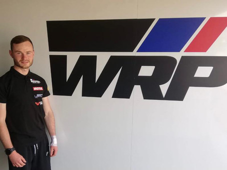Eugene McManus to ride at Estoril and Misano in World Supersport
