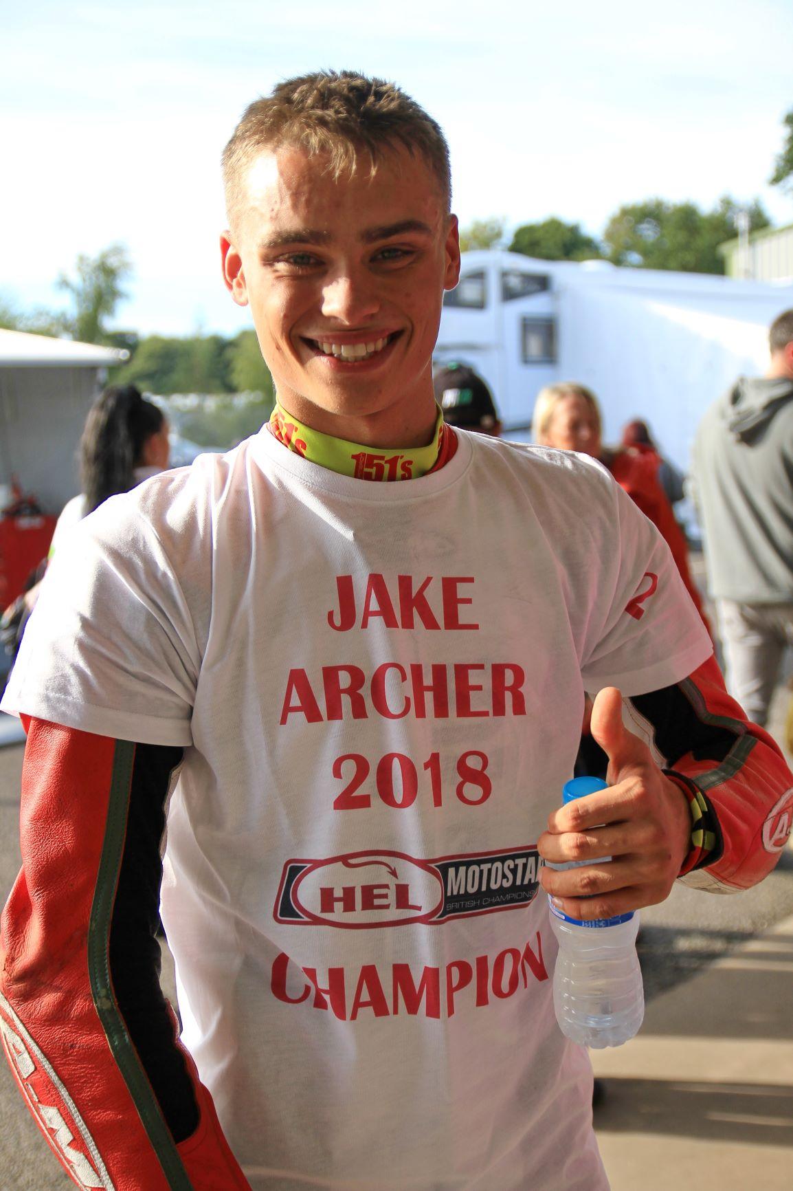 Jake Archer Motostar Oulton Park Sept 20