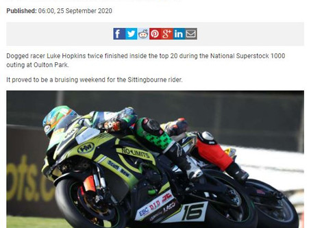 Hopkins in the news after Oulton Park