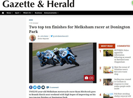 Press coverage after Donington round