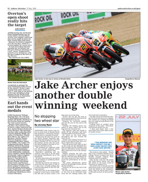 Post Brands Hatch Andover Advertiser