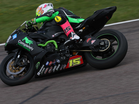 Eugene McManus recovers for top ten finish at Thruxton