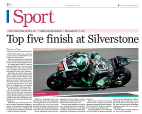 Love Andover Observer press article