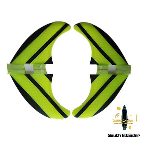 Quad X 4 FCS2 FCS Future Fins Performance core PC SouthIslander bright green