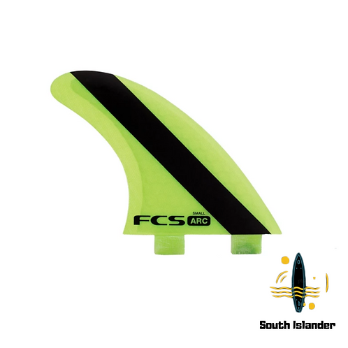 FCS ARC TRI FINS-Large-Small-Performance Core-FCS2 Future-Stock Clearance