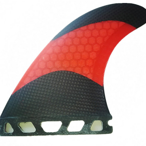 FUTURE CRACKER PC CARBON TRI FINS