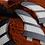 Thumbnail: FCS V2 MODEL WHITE AND BLACK PC TRI FINS