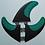 Thumbnail: FCS BLADE SERIES PC CARBON TRI FINS