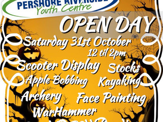 OPEN DAY Sat 31st October