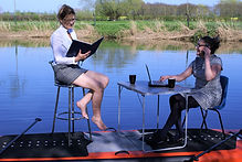 Office on a paddleboard - Bonkers SUP