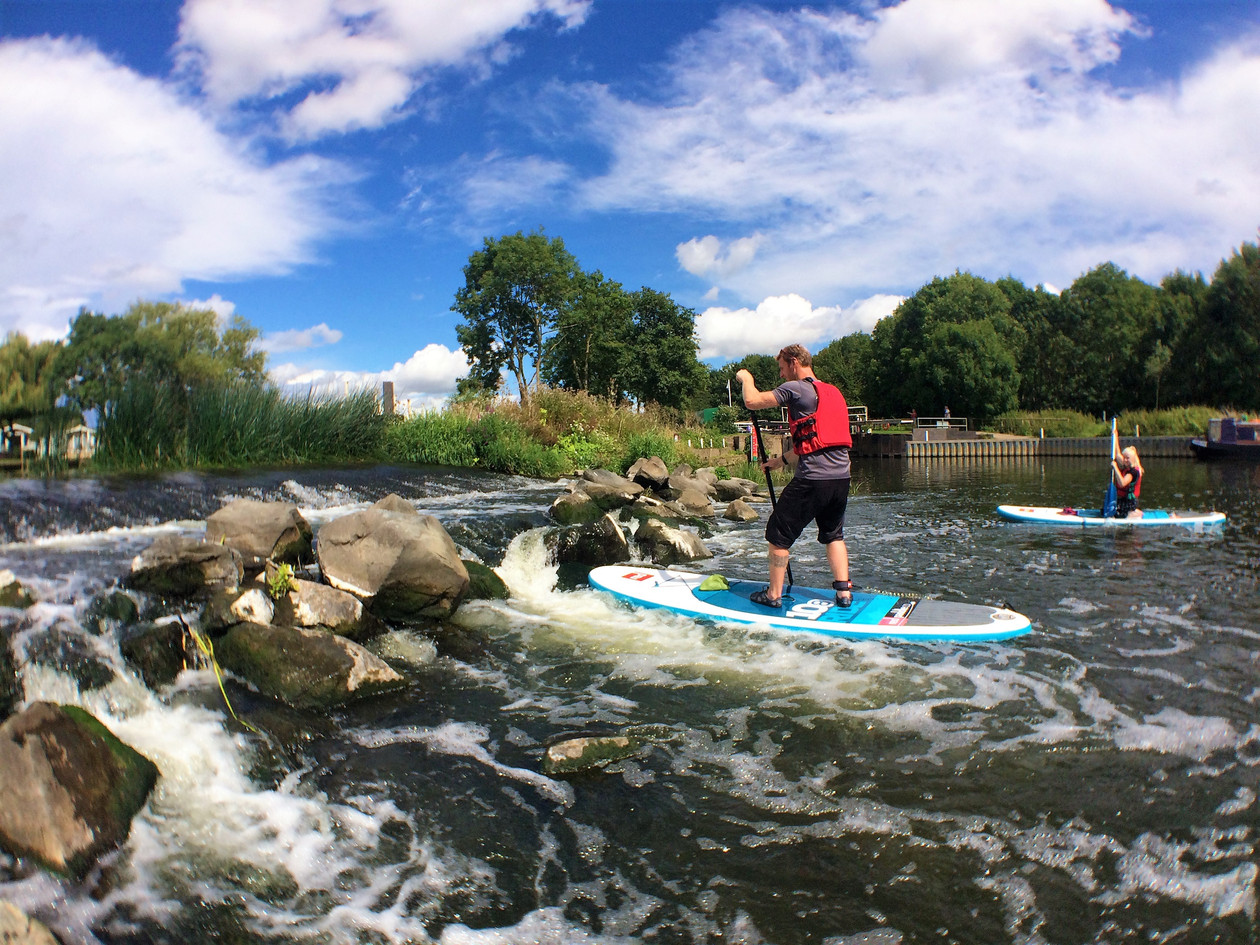 learn to paddle into flow - wyre