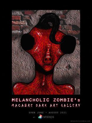 Melancholic Zombie's Macabre Dark Art Gallery