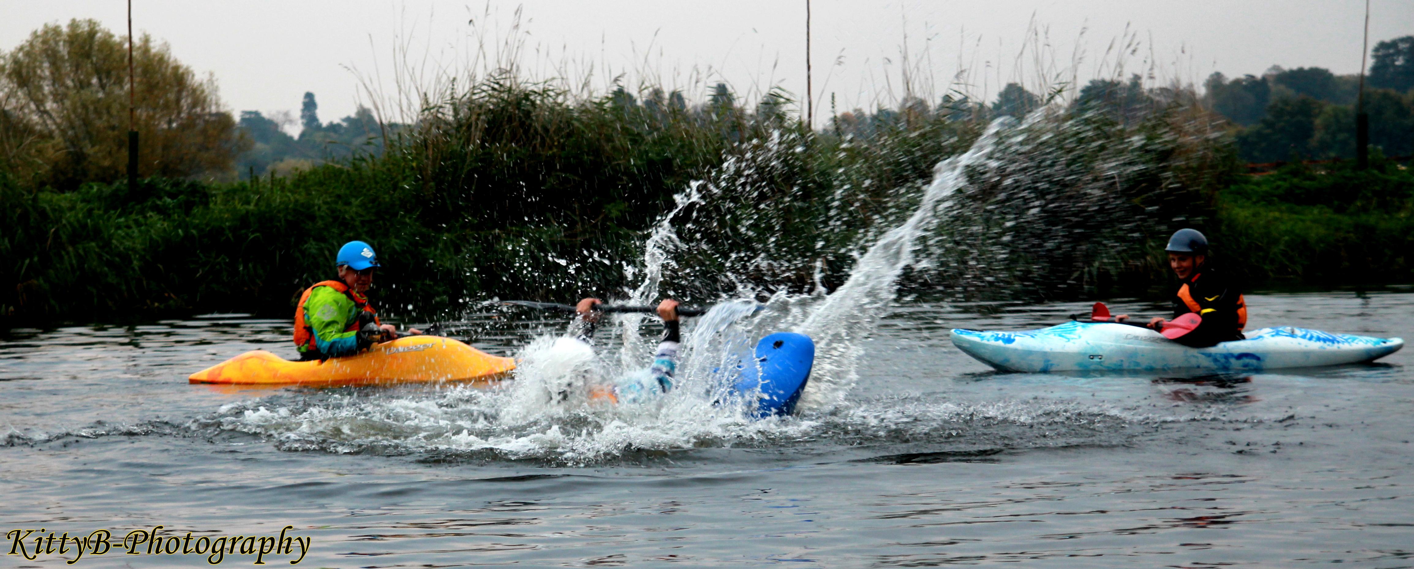 3D kayaking