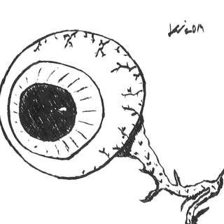 Inktober 2019: #6 (Eye of the) Husky