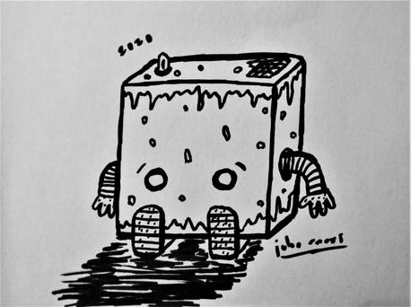 Little rusty robot