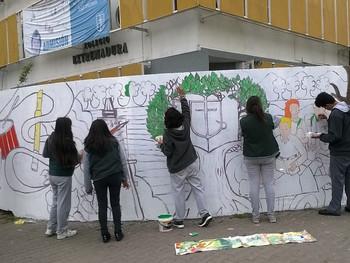 Formación Ciudadana:                   Pintando Nuestro Proyecto Educativo
